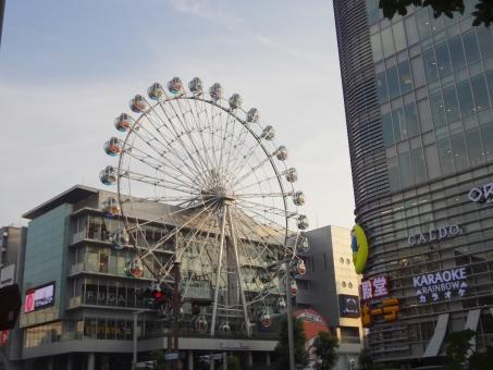 サンシャイン栄の観覧車「Sky-Boat」の料金と営業時間まとめ!一周にかかる時間と最新コラボ情報も!【景色が綺麗】